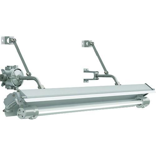 (照明器具)岩崎 防爆形直管LED照明器具32×1定格出力形相当ブラケット形電線管径φ22 EXILF3411BSA9N-22