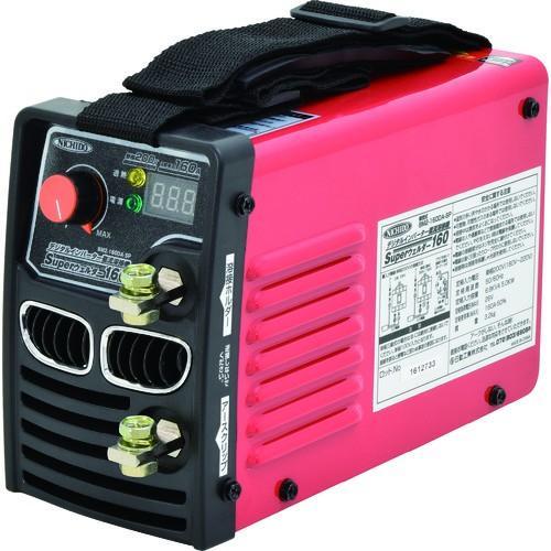 (電気溶接機)日動 デジタルインバーター直流溶接機 スーパーウェルダー160 単相200V専用 BM2-160DA-SP