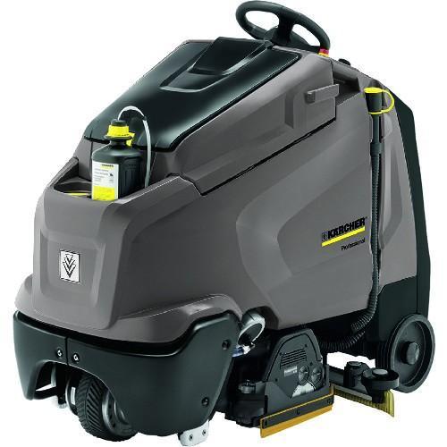 (床洗浄機)ケルヒャー 業務用立ち乗り式床洗浄機 BR65/95RSBPDOSE