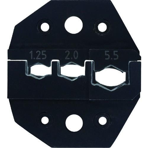 (油圧式圧着工具)クラウケ 専用ダイス 絶縁端子用 1.25〜5.5sq J5020