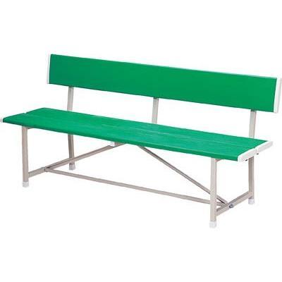 (ロビーチェア)ノーリツ ベンチ(背付)緑 RBA-1500 RBA-1500
