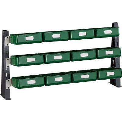 (パネルラック)トラスコ UPR型ライトビンラック卓上用 K−20HX12個 UPR-ML1803KL