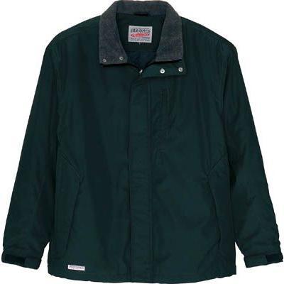 (寒さ対策 防寒対策用品)アイトス 防寒ジャケットブラックM 6164-010-M