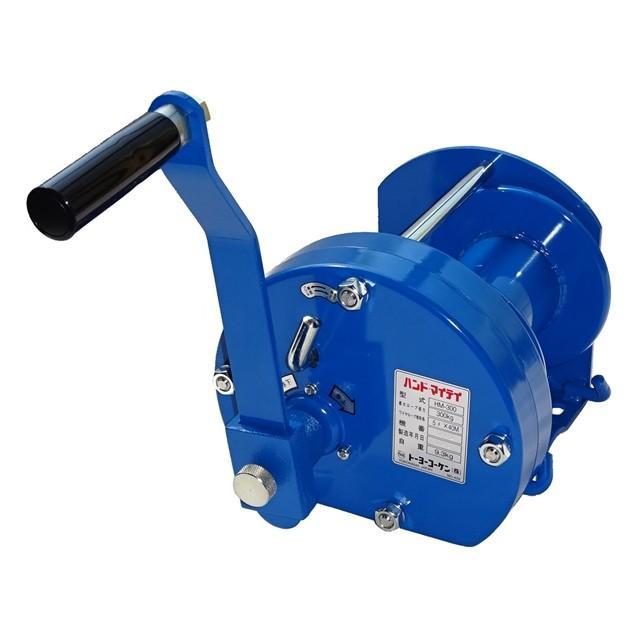 (ウインチ(手動式)TKK ハンドマイティー HM−300 ワイヤ付属なし HM-300