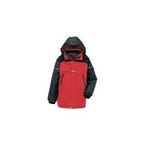 (寒さ対策 防寒対策用品)アイトス 防寒コート レッドM AZ-6060-009-M