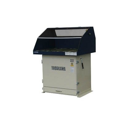 直送品 代引き不可(集じん機)淀川電機 集塵作業台(高効率モータ搭載/鉄製フード仕様)60Hz YES75EVD