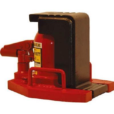 直送品 代引不可 (油圧ジャッキ)イーグル 低床 レバー回転 安全弁付爪つきジャッキ 爪能力8t G-160T