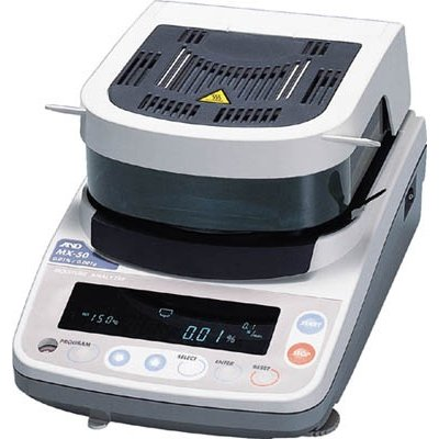 直送品 代引不可 (水質・水分測定器)A&D 加熱乾燥式水分計 最小質量表示0.005g ML-50