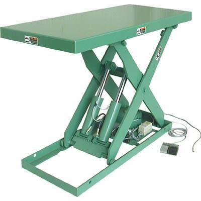 直送品 代引不可 (テーブルリフト)河原 標準リフトテーブル 2.2KW K-3012-2.2