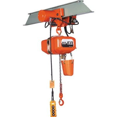 直送品 代引不可 (電気チェーンブロック)象印チェンブロック FA型電気トロリ式電気チェーンブロック0.5t FAM-00560
