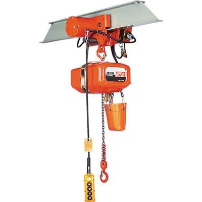 直送品 代引不可 (電気チェーンブロック)象印チェンブロック SA型単相100V電気トロリ式電気チェーンブロック0.9t SAM-00930
