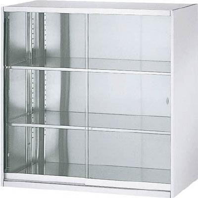 直送品 代引き不可 (保管庫)TRUSCO SUS304保管庫 ガラス引違 900X500XH900 TSG-09