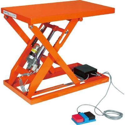直送品 代引不可 (テーブルリフト)トラスコ テーブルリフト100kg(電動Bねじ式100V)520×850mm HDL-W1058V-12