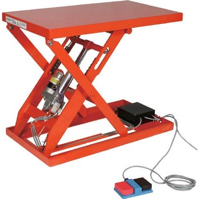 直送品 代引不可 (テーブルリフト)トラスコ テーブルリフト200kg(電動Bねじ式200V)600×750mm HDL-W2067V-22