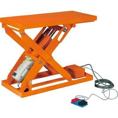 直送品 代引不可 (テーブルリフト)トラスコ スーパーFAリフター100kg 電動式 800X600 高揚程型 HFA-10-0608W3-20