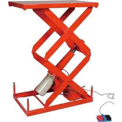 直送品 代引不可 (テーブルリフト)トラスコ スーパーFAリフター200kg 電動式 800X500 高揚程型 HFA-20-0508W-20