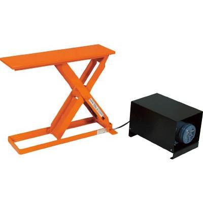 直送品 代引不可 (テーブルリフト)トラスコ スリムリフト150kg 電動油圧式 700X300 HLE-15-3007