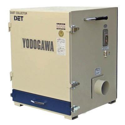直送品 代引不可 (集じん機)淀川電機 カートリッジフィルター集塵機(0.4kW 高圧タイプ)DET400SB