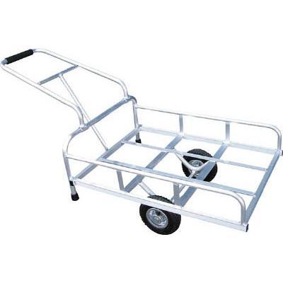 直送品 代引不可 (一輪車 リヤカー)アルミス アルミリヤカー 4-GATA