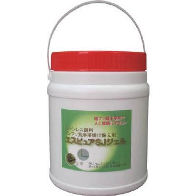 (電気溶接用品)佐々木化学 ステンレス溶接焼け除去剤エスピュア SJジェル 1kg SJJEL1000G