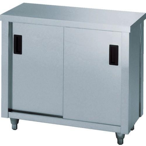 (保管庫)アズマ ステンレス保管庫(片面引違戸) 1800×600×800 AC-1800H