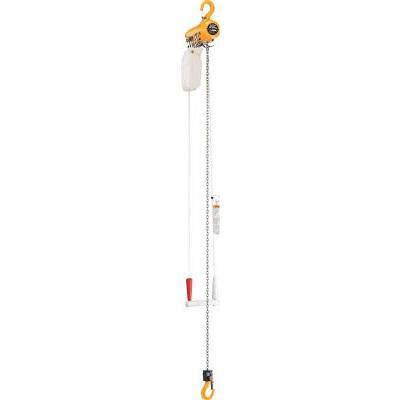 直送品 代引き不可(ホイスト)キトー エアホイスト懸垂形(単体:引きひも方式)標準揚程3m TCSH03CS