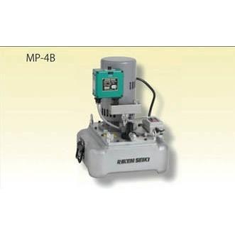 直送品 代引き不可(ポンプ式ジャッキ)RIKEN 電動ポンプ MP-4C