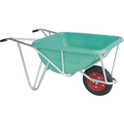 直送品 代引き不可(一輪車・リヤカー)HARAX アルミ一輪車 CF-4