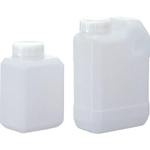 (ポリ缶)サンプラ 角瓶C型(広口タイプ) 2L  (50個入) 2134