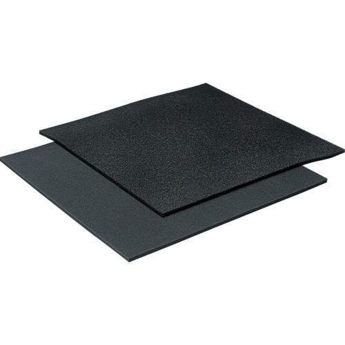 (樹脂素材)イノアック モルトフィルター MF−13 黒 25tx1000x1000 化粧断 MF1325