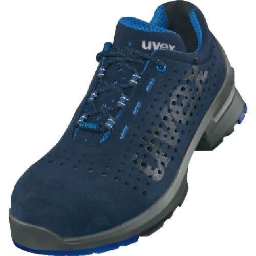 (作業靴)UVEX ローシューズ ネイビー 26.0CM 8531.441