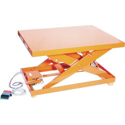 (直送品 代引き不可)(テーブルリフト)TRUSCO テーブルリフト1000kg電動BねじDC24V 650×1050 HDLL100610VD2