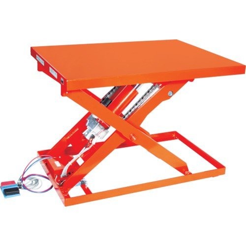 (直送品 代引き不可)(テーブルリフト)TRUSCO テーブルリフト500kg 電動BねじDC24V 650×1050 HDLL50610VD2