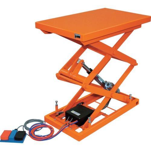 (直送品 代引き不可)(テーブルリフト)TRUSCO テーブルリフト100kg 電動Bねじ式DC24V 520×850 HDLW1058VD2