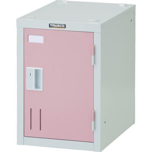 (直送品 代引き不可)(ロッカー)TRUSCO ミニロッカー 1人用 ピンク シリンダ錠式 SHW1AP SHW1AP SHW1AP 780