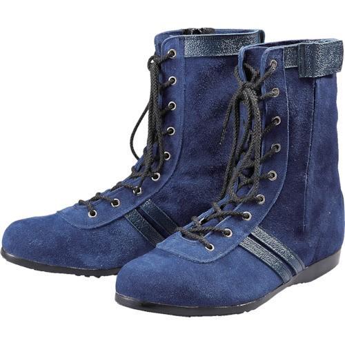 (安全靴)青木安全靴 WAZA−BLUE−ONE−24.0cm WAZA青ONE24.0