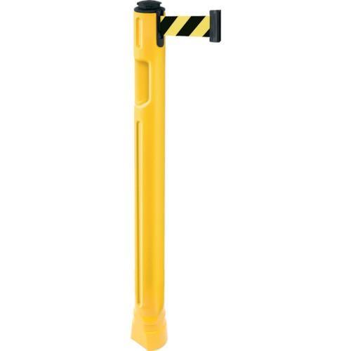 (パーテーション)スガツネ工業 290−035−908 ベルトパーテーション ポール 支柱黄 黄黒 805300YLSF