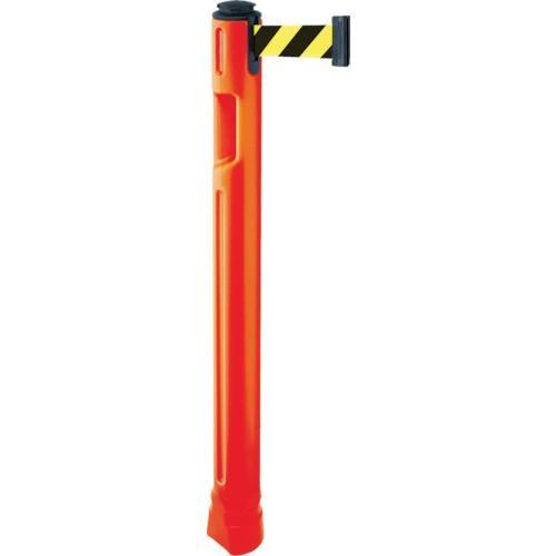 (パーテーション)スガツネ工業 290−035−909 ベルトパーテーション ポール 支柱橙 黄黒 805300ORSF