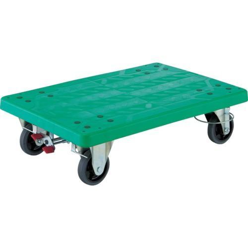 (樹脂製運搬車)TRUSCO グランカート 折畳 4輪リングストッパー付 TP901JKRS4