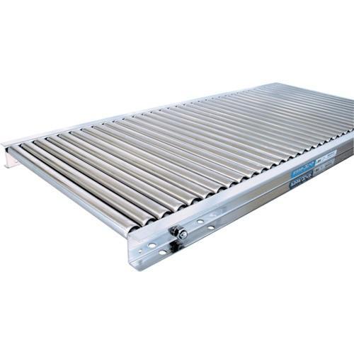(直送品 代引き不可)(ステンレスローラーコンベヤ)TS ステンレス製ローラコンベヤφ25−W400XP30X90°カーブ LSU25400390R55