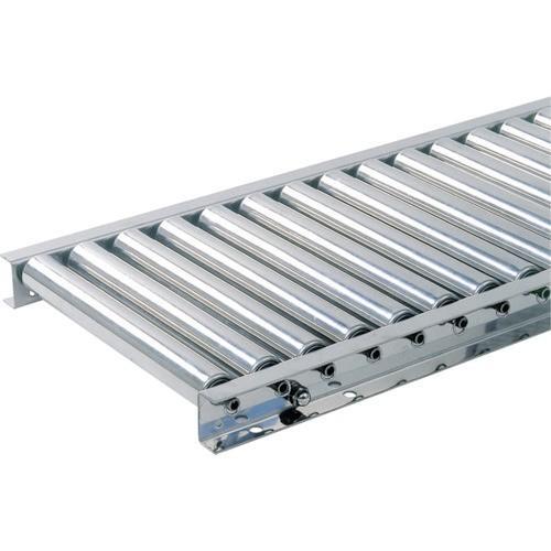 (直送品 代引き不可)(ステンレスローラーコンベヤ)TS ステンレス製ローラコンベヤφ38.1−W300XP100X90°カーブ SU38301090R90