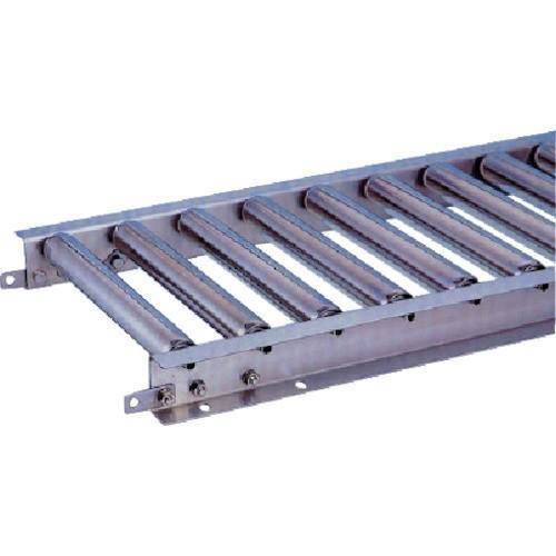 (直送品 代引き不可)(ステンレスローラーコンベヤ)三鈴 ステンレスロ−ラコンベヤ MU38型 径38X1T MU38150515