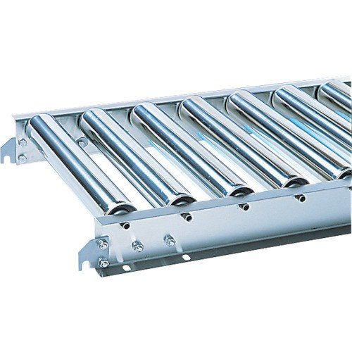 (直送品 代引き不可)(ステンレスローラーコンベヤ)三鈴 ステンレスローラコンベヤ MU60型 径60.5X1.5T MU60500710