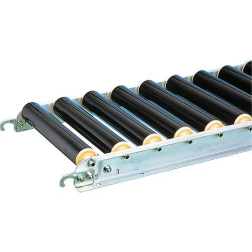 (直送品 代引き不可)(樹脂ローラーコンベヤ)三鈴 樹脂ローラコンベヤMR50B型 径50X3.5T MR50B601515