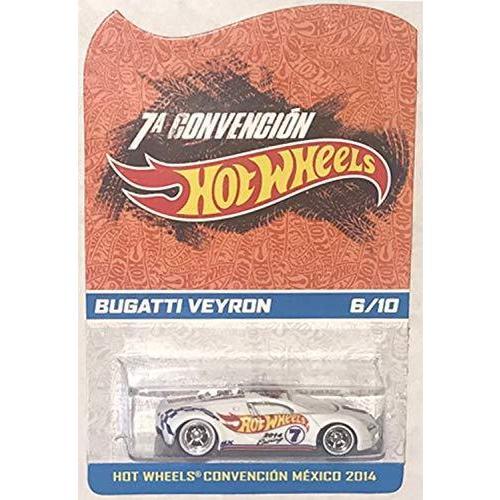 ホットウィールHot Wheels 2014 Mexico Convention Bugatti Veyron Very Rare Limited Edition 1:64 Scale Collectible Die Cast Car #6 of Only 10 Made