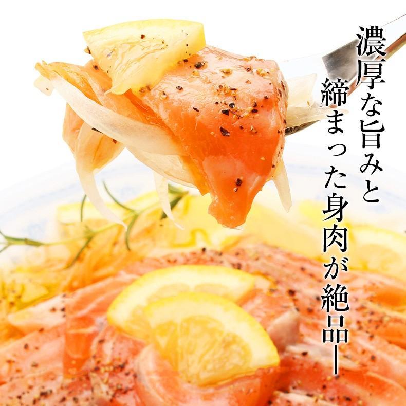 スモークサーモン 切り落とし 天然 紅鮭 500g uoko-ec 03