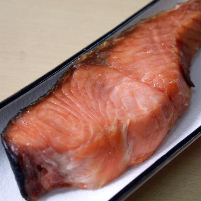 新潟 村上 名産 塩引き鮭 切身 大切100g×10切 お祝い お礼 ギフト|uoya|02