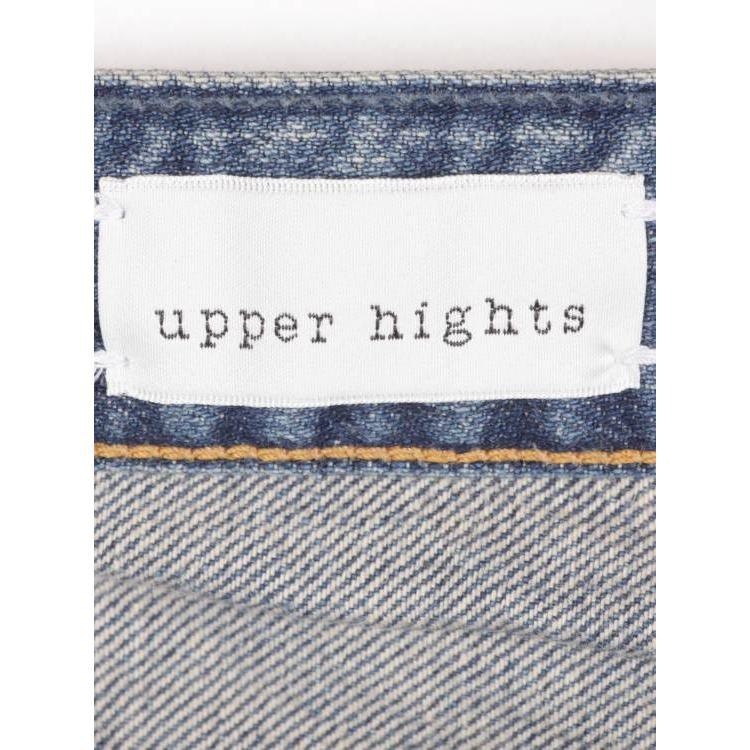 upper hights アッパーハイツ THE FINE テーパード デニムパンツ ダメージ加工 クラッシュ加工 ジップアップ ウォッシュ 188511 vrd 国内正規品|up-avanti|12