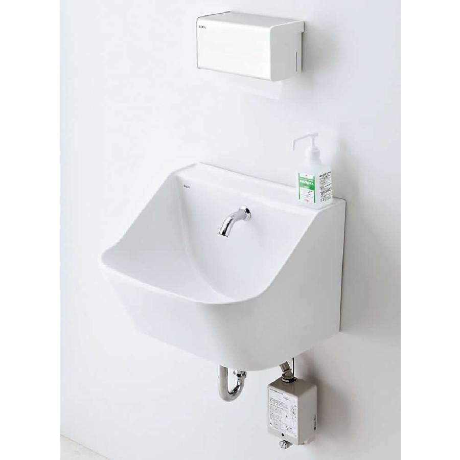 INAX·LIXIL スタッフ用手洗器【L-A101KAA】【YL-A101KAA】混合水栓 AC100V 床排水[新品]