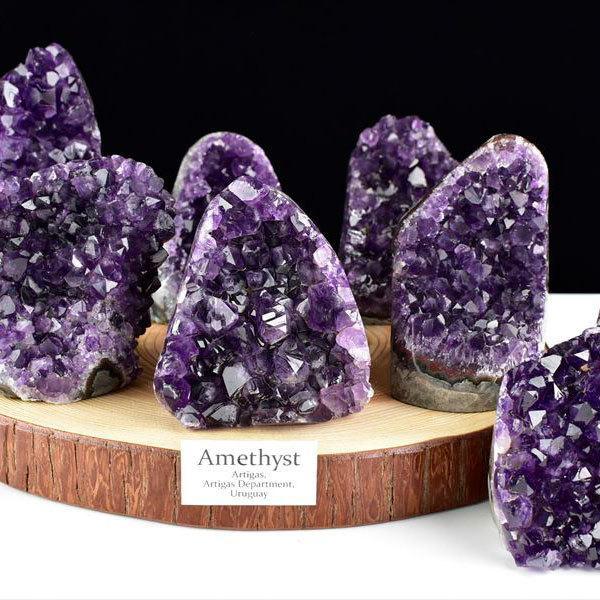 アメジスト AAA クラスター カットベース 原石 ウルグアイ アルティガス産 人気急上昇 種類お任せ 紫水晶 ジオード 天然石 激安セール ドーム パワーストーン